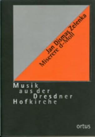 Miserere Ré Mineur. Conducteur - ZELENKA - laflutedepan.com