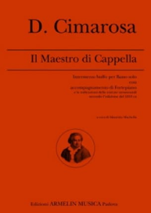 Il Maestro Di Cappella - CIMAROSA - Partition - laflutedepan.com