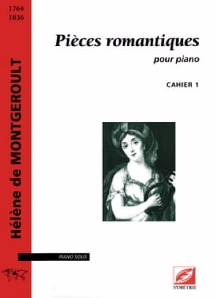 Pièces Romantiques Volume 1 - Hélène de Montgéroult - laflutedepan.com