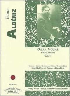 Obra Vocal Volume 2 - ALBENIZ - Partition - laflutedepan.com
