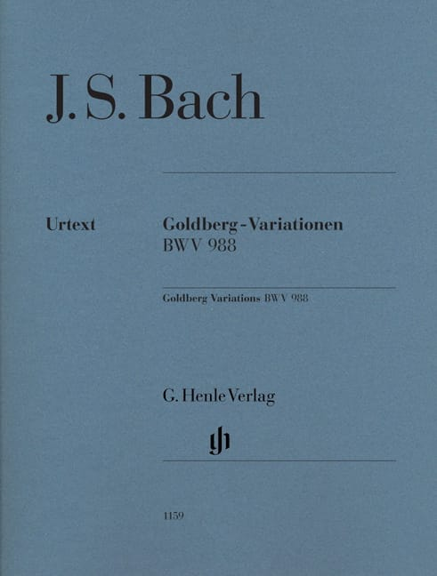 Variations Goldberg BWV 988. Sans Doigté - BACH - laflutedepan.com