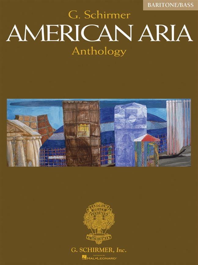 American Aria Anthology. Baritone / Basse - laflutedepan.com
