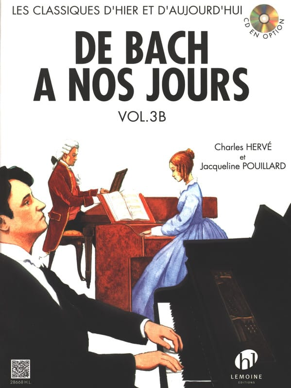 DE BACH A NOS JOURS - from Bach to the present day - Volume 3B - Partition - di-arezzo.com