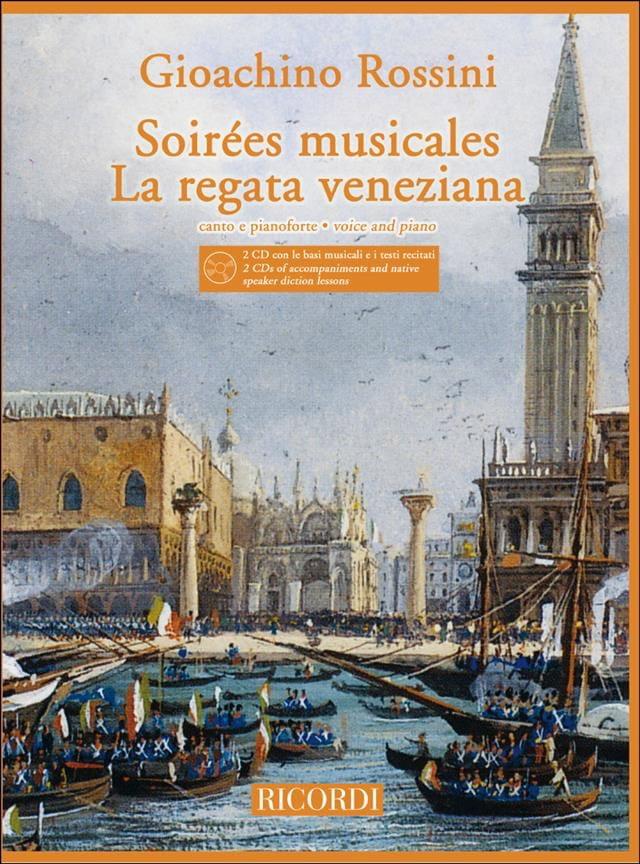 Gioachino Rossini - Veladas musicales / Regata Veneziana 2 CD - Partition - di-arezzo.es