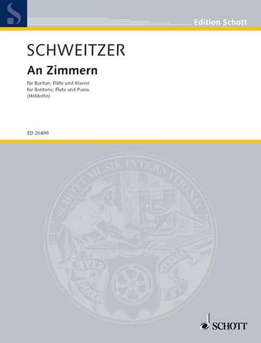 An Zimmern - Benjamin Schweitzer - Partition - laflutedepan.com