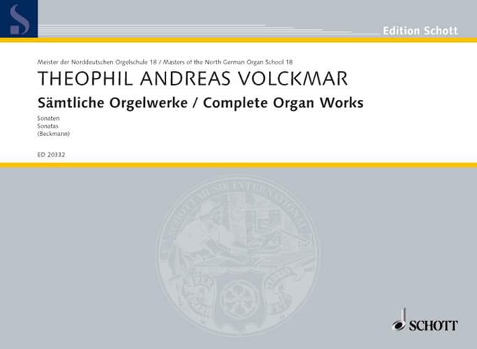 Sämtliche Orgelwerke - Theophil Andreas Volckmar - laflutedepan.com