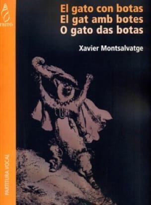 El Gato Con Botas - Xavier Montsalvatge - Partition - laflutedepan.com