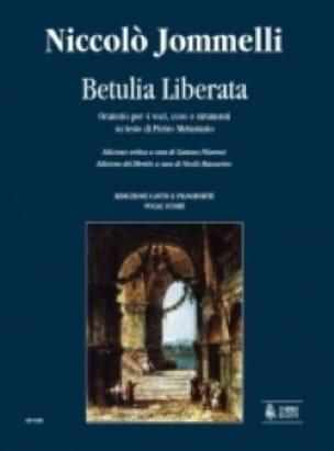 Betulia Liberata - Niccolo Jommelli - Partition - laflutedepan.com