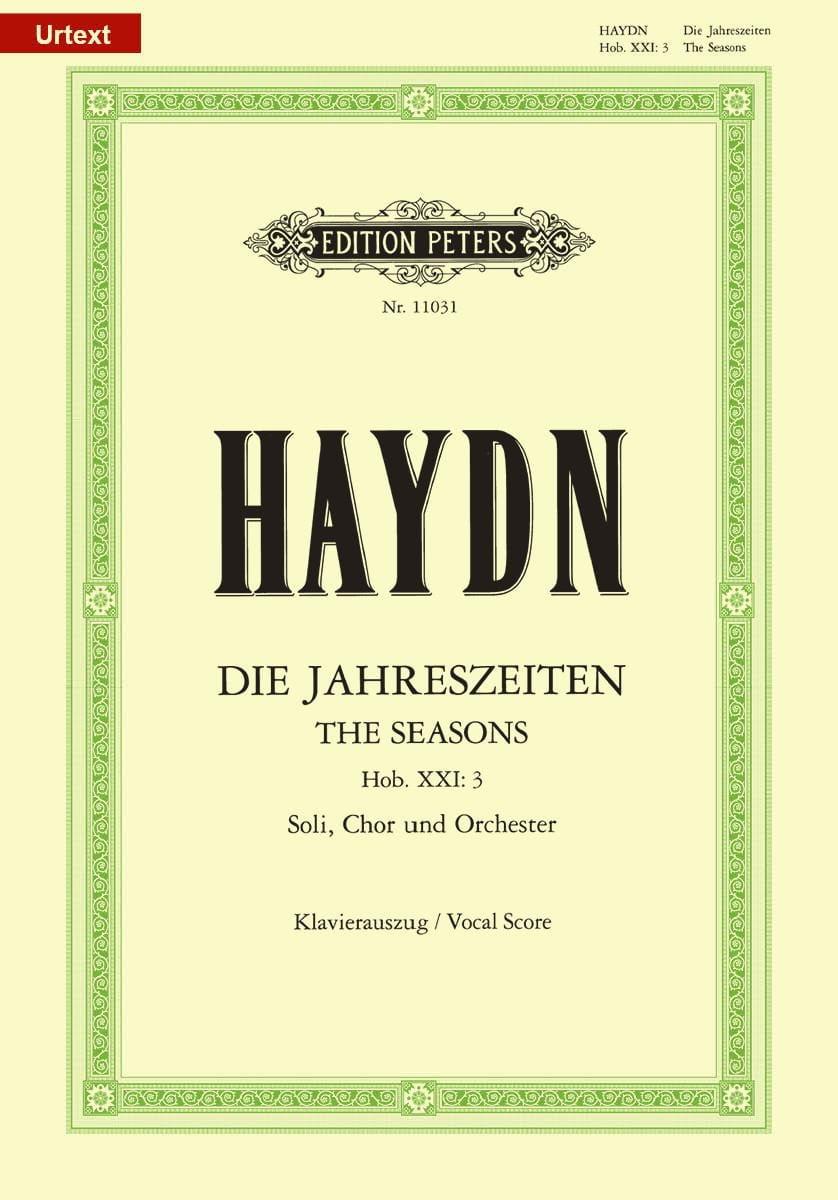 HAYDN - The Hob XXI Seasons: 3 (21-3) - Partition - di-arezzo.co.uk