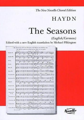 The Seasons Hob 21-3 Englais/ Allemand - HAYDN - laflutedepan.com