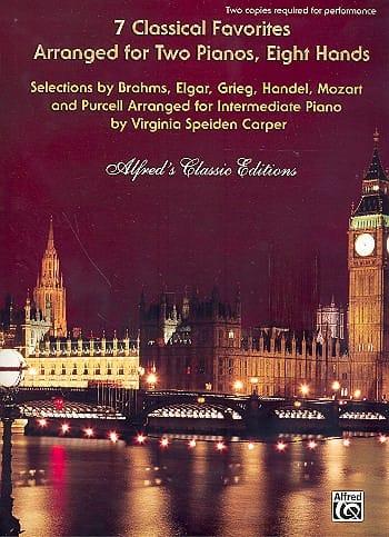 - 7 klassische Favoriten. 2 Klaviere 8 Hände - Partition - di-arezzo.de