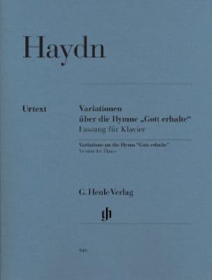 Variations sur l'hymne Gott erhalte Hob 3-77 - laflutedepan.com