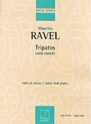 Maurice Ravel - Tripatos. Aloud - Partition - di-arezzo.com