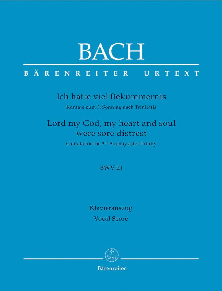 Cantate 21 Ich Hatte Viel Bekümmernis - BACH - laflutedepan.com