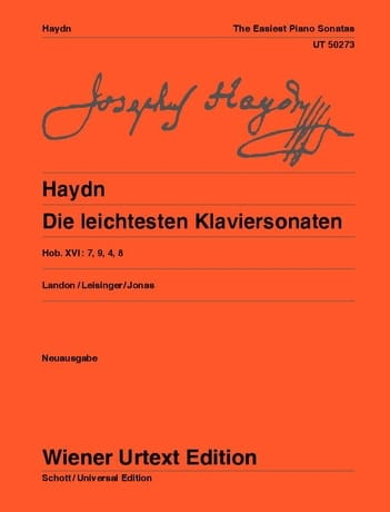 Die Leichtesten Klaviersonaten - HAYDN - Partition - laflutedepan.com