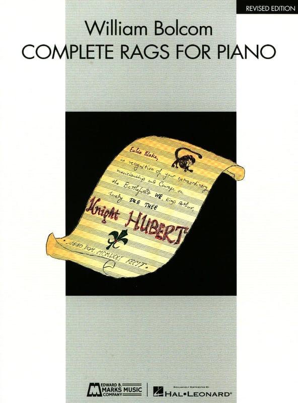 William Bolcom - Complete Rags - Partition - di-arezzo.com