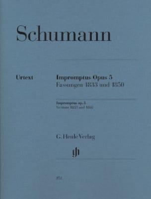 Impromptus Op. 5 - SCHUMANN - Partition - Piano - laflutedepan.com