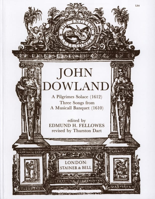 John Dowland - A Pilgrimes Solace / 3 Songs From A Musicall Banquet - Partition - di-arezzo.co.uk