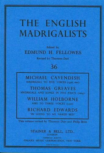 The English Madrigalist - Partition - Chœur - laflutedepan.com