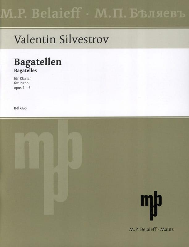 Bagatellen - Valentin Silvestrov - Partition - laflutedepan.com