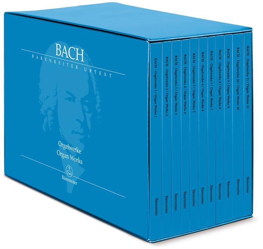 Œuvre Complète pour Orgue en 11 Volumes - BACH - laflutedepan.com