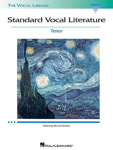 Standard Vocal Literature. Ténor - Partition - laflutedepan.com