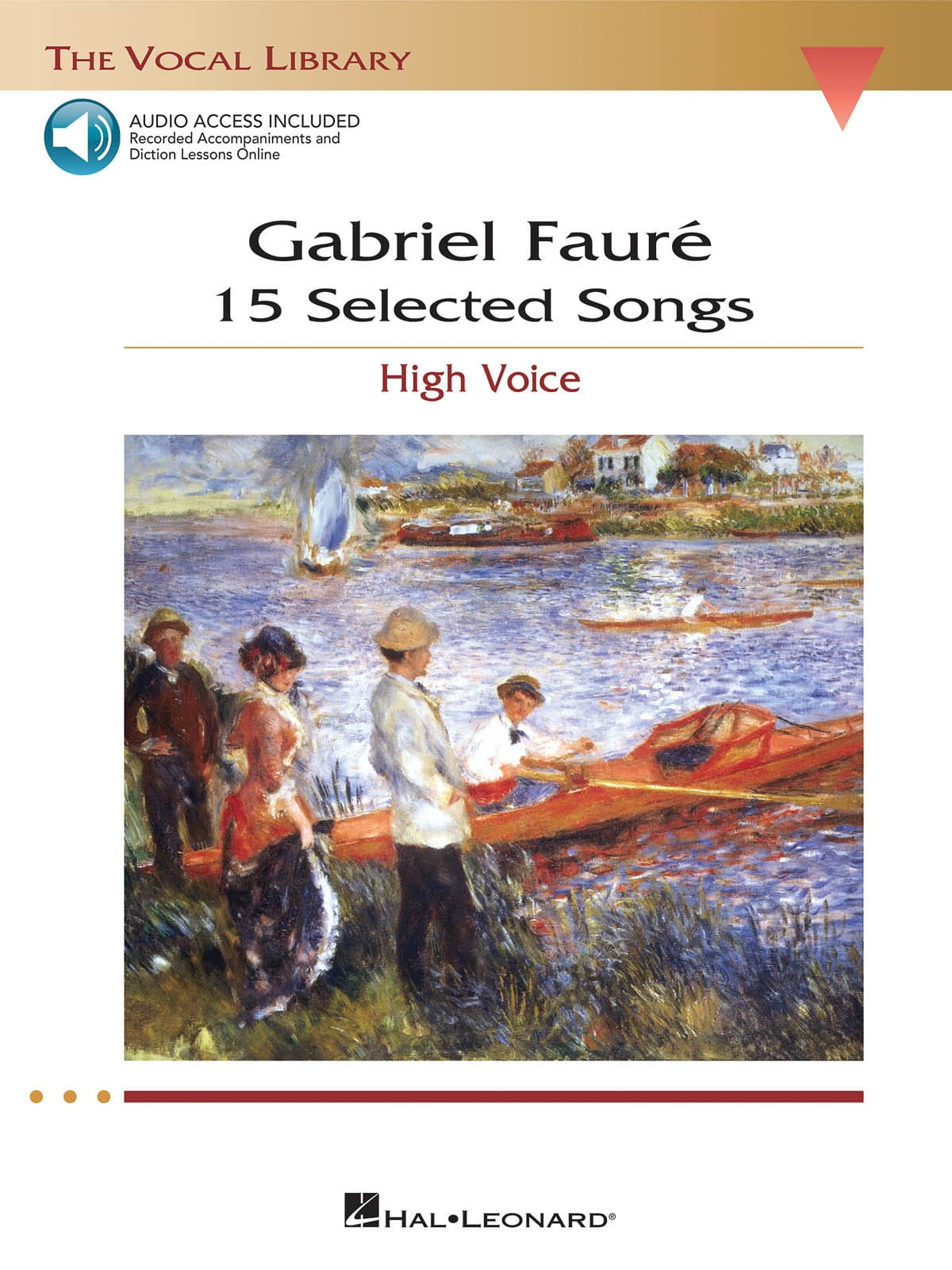 Gabriel Fauré - 15 Selected Songs. Aloud - Partition - di-arezzo.com