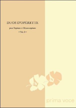 Duos D'opérette Soprano-Mezzo - Partition - laflutedepan.com