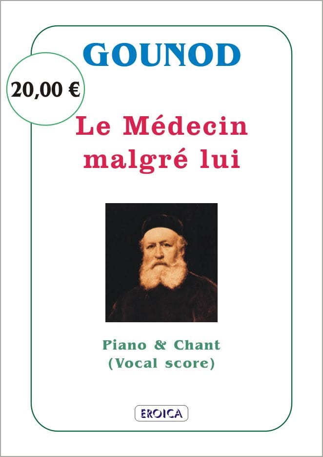 Charles Gounod - The doctor despite Himself - Partition - di-arezzo.com
