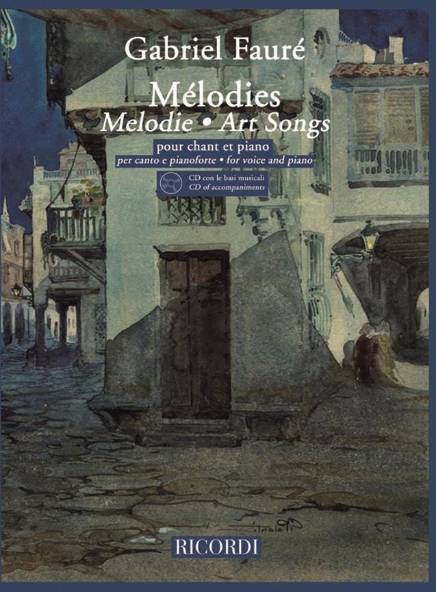 Gabriel Fauré - 20 Melodies. Aloud - Partition - di-arezzo.co.uk