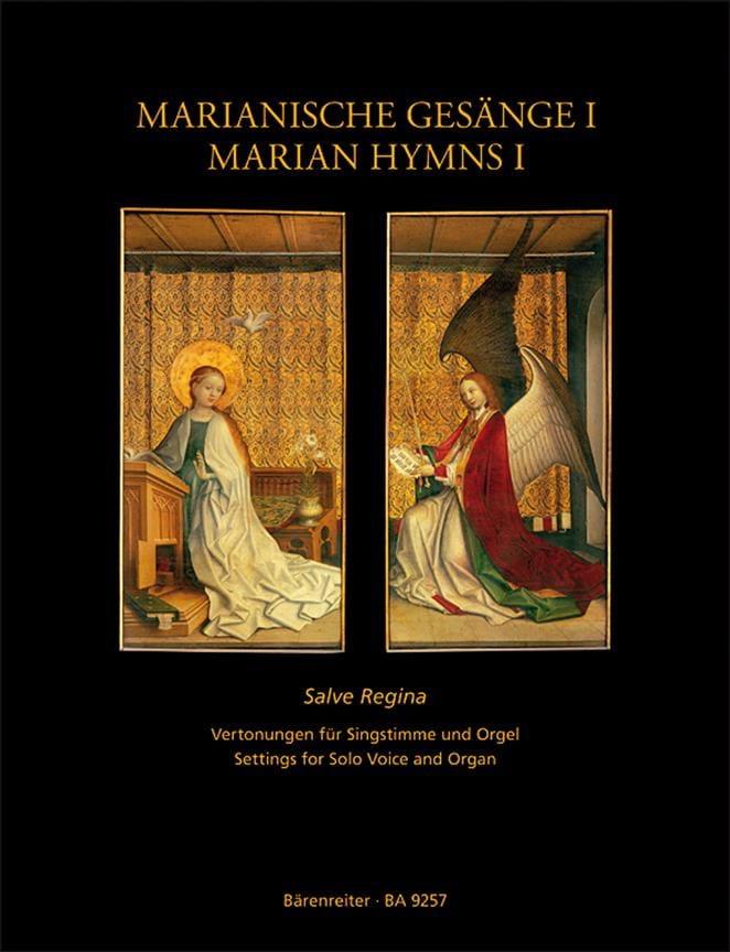 Hymnes Marials volume 1 - Partition - Mélodies - laflutedepan.com