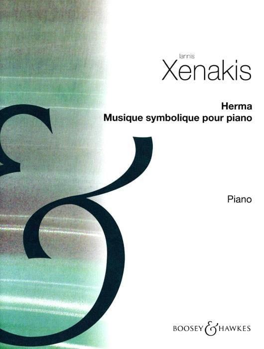 Iannis Xenakis - Herma. - Partition - di-arezzo.com