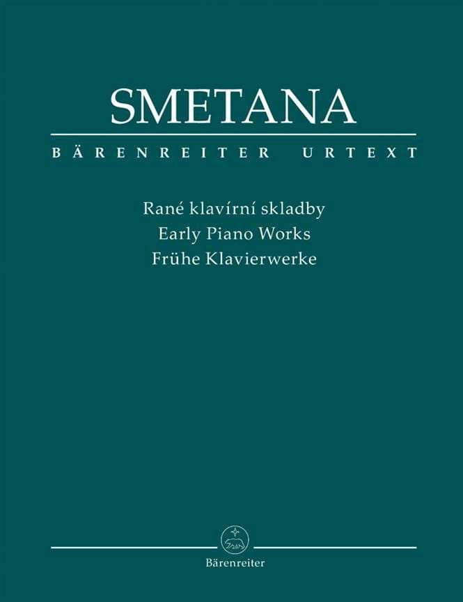 Bedrich Smetana - Early Works For Piano - Partition - di-arezzo.com