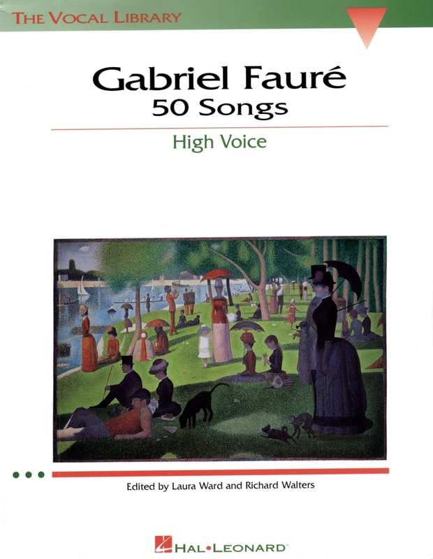 Gabriel Fauré - 50 Songs. Aloud - Partition - di-arezzo.co.uk
