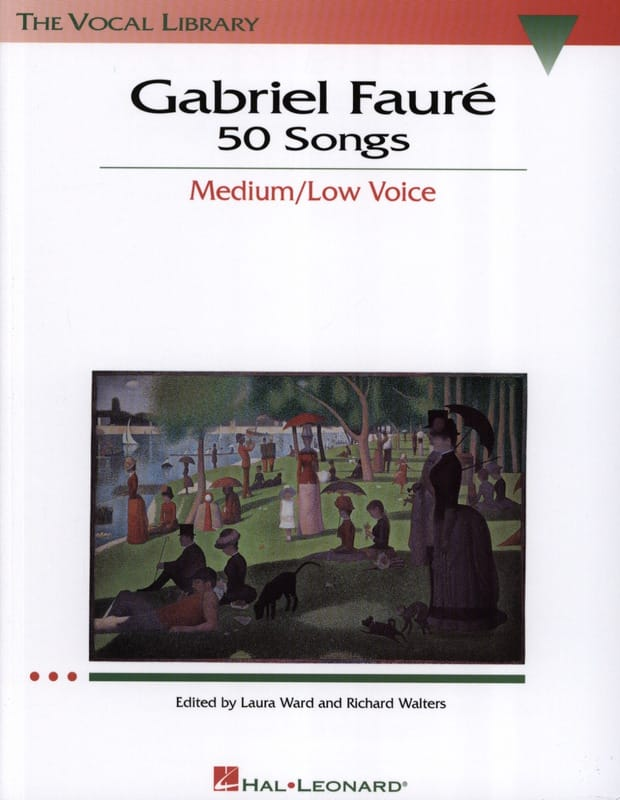 Gabriel Fauré - 50 Songs. Mean Voice - Partition - di-arezzo.com