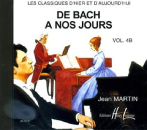 de Bach à nos Jours - Volume 4B - CD - laflutedepan.com