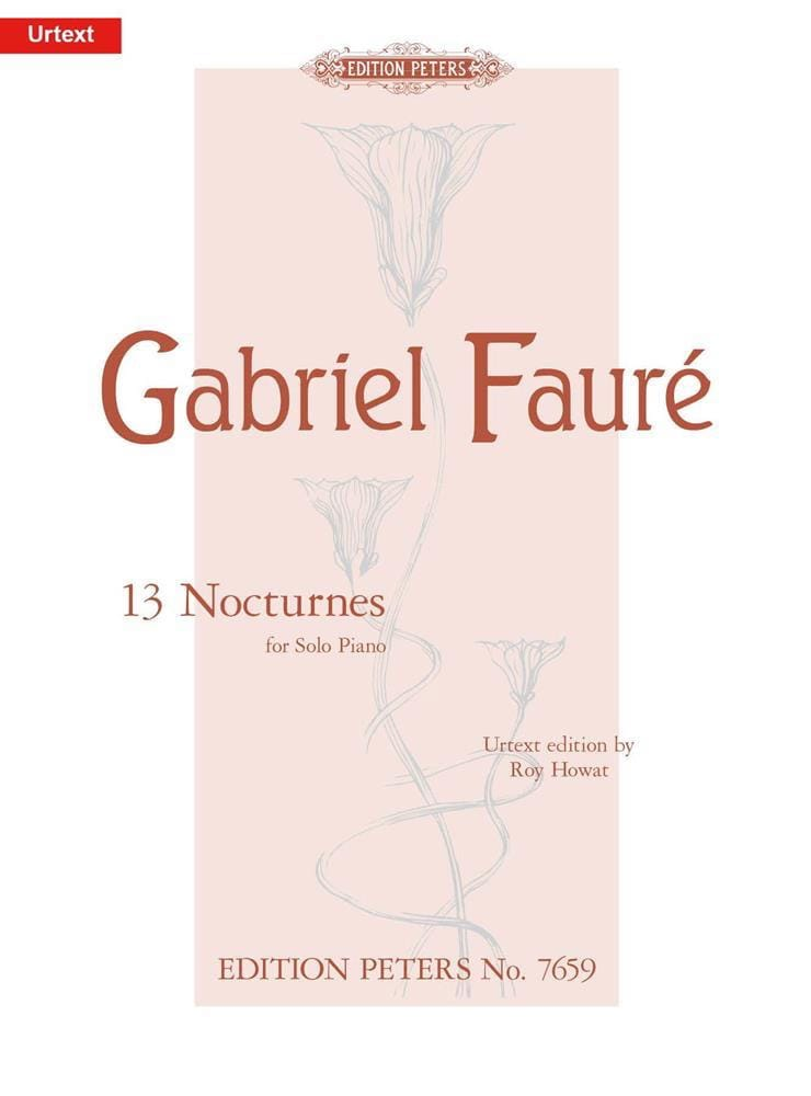 Gabriel Fauré - 13 Nocturnes - Partition - di-arezzo.co.uk