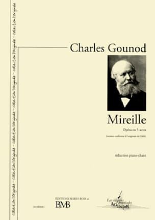 Charles Gounod - Mireille - Partition - di-arezzo.com