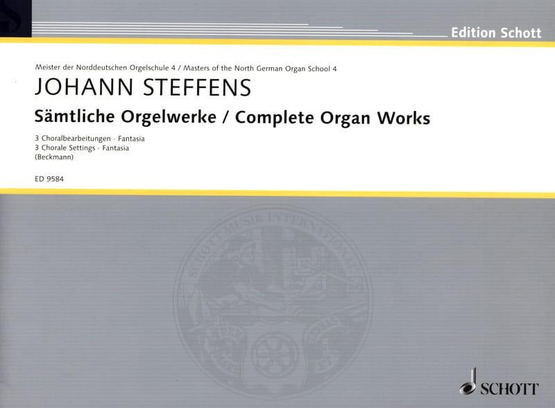 Sämtliche Orgelwerke - Johann Steffens - Partition - laflutedepan.com
