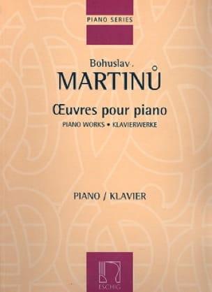 Oeuvres pour Piano - MARTINU - Partition - Piano - laflutedepan.com
