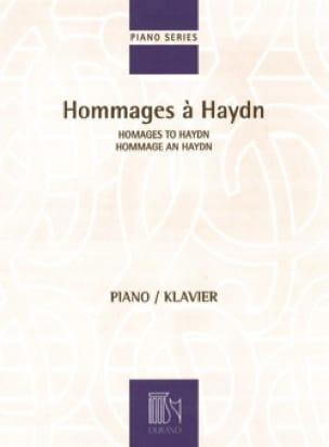 Hommages à Haydn - Partition - Piano - laflutedepan.com