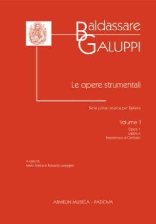Le Opere Strumentali. Volume 1 - Baldassare Galuppi - laflutedepan.com