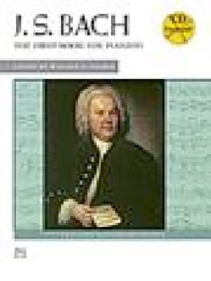 The 1st Book For Pianist - BACH - Partition - Piano - laflutedepan.com