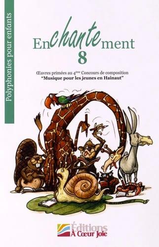 Enchantement 8 - Partition - Chœur - laflutedepan.com