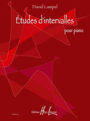 Etudes D'intervalles - David Lampel - Partition - laflutedepan.com