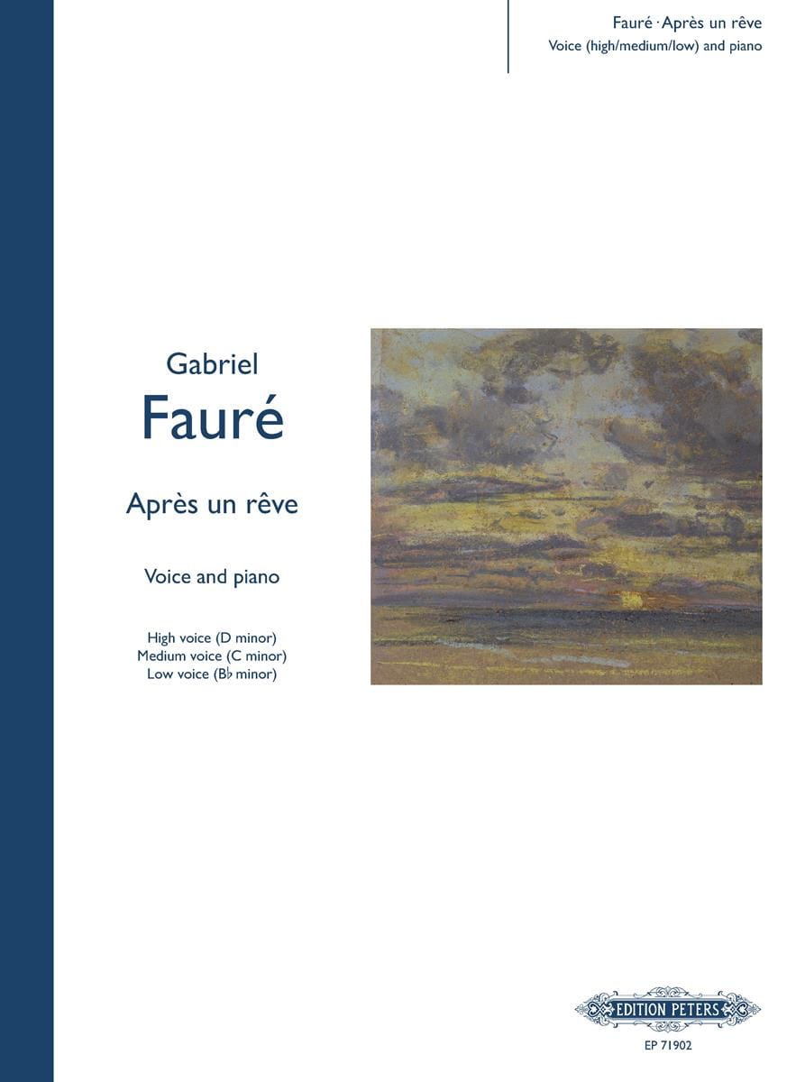 Gabriel Fauré - After a dream - Partition - di-arezzo.com
