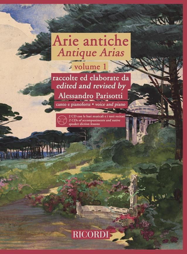 Alessandro Parisotti - Arie Antiche Volume 1 2 CD - Partition - di-arezzo.co.uk