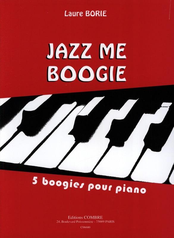 Jazz me Boogie - Laure Borie - Partition - Piano - laflutedepan.com