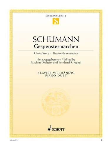SCHUMANN - Gespenstermärchen. 4 Hands - Partition - di-arezzo.co.uk