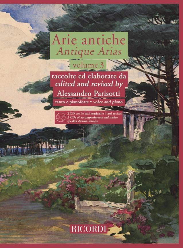 Alessandro Parisotti - Arie Antiche Volume 3 2 CD - Partition - di-arezzo.co.uk